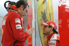 discussing Felipe and S. Domenicali