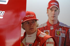 Kimi and his twin-brother