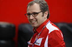 team-boss Stefano Domenicali